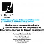 Nudos en el acompañamiento y la formación en las Empresas de Inserción: agenda de temas pendientes