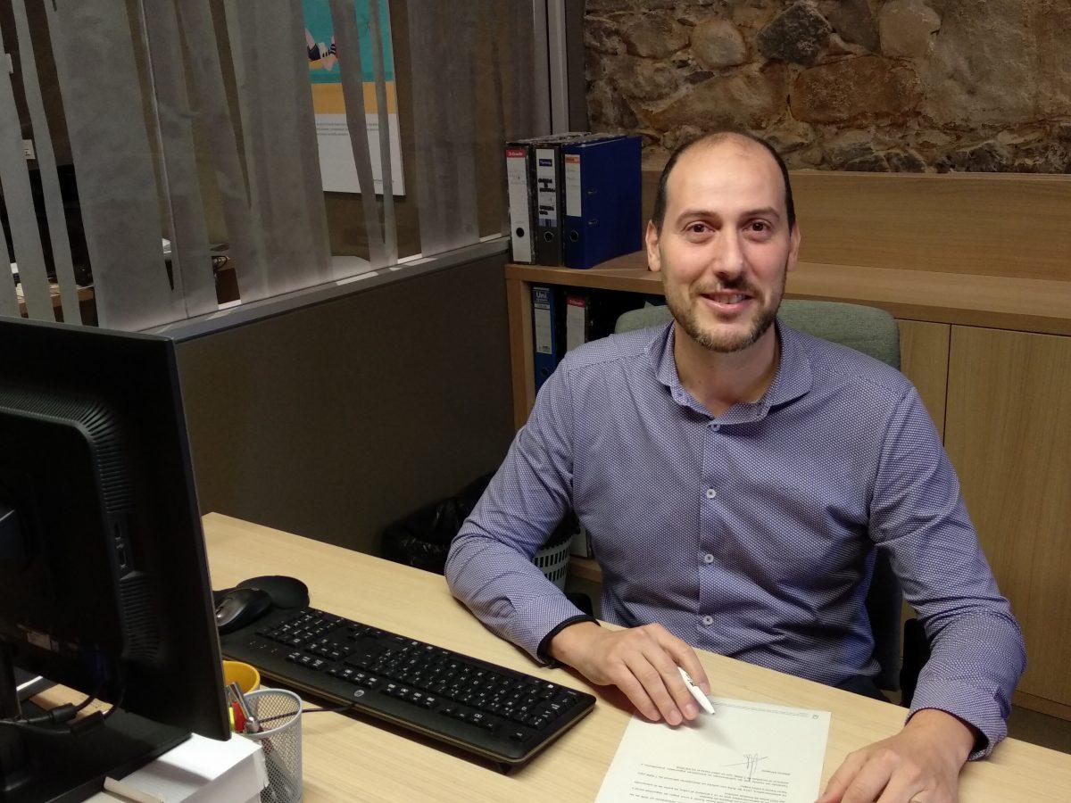 Alberto Mínguez, Director sucursal Banca Ética Fiare Bilbao
