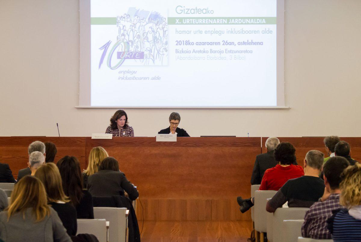 Gizatea: 10 años trabajando por un empleo inclusivo