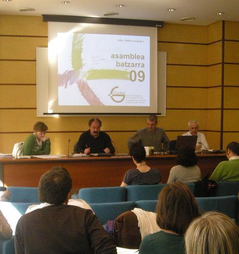 Gizatea celebra la Asamblea 2009