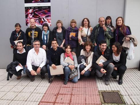 25 personas de Gizatea acuden a Avilés.