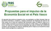 Propuestas para el impulso de la Economía Social en el País Vasco