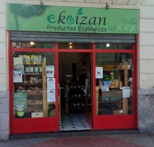 Ekoizan. Tienda de productos ecológicos de Peñascal Kooperatiba