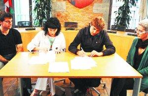 Acuerdo entre Konfia y el Ayuntamiento de Tolosa