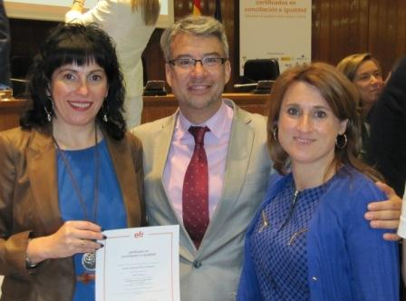 Konfia obtiene la certificación de empresa familiarmente responsable (efr).