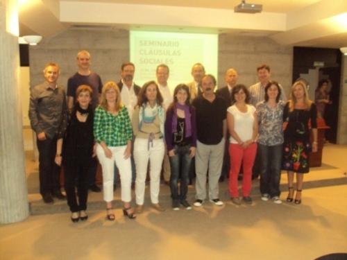Visita de representantes de la Diputación de Málaga