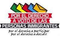 Por el derecho al voto de las personas inmigrantes